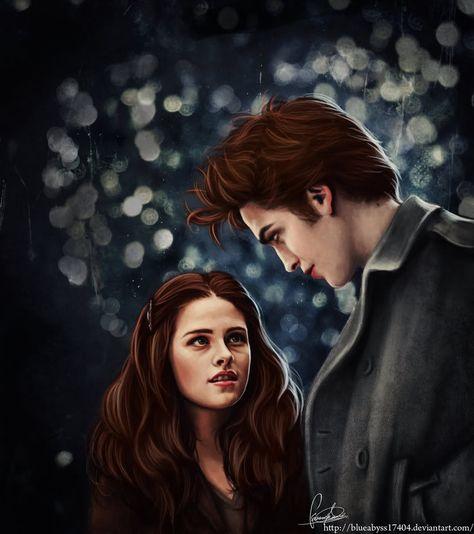 Bella and Edward  By: blueabyss