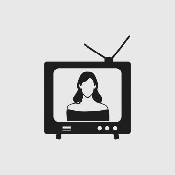 Television Icon With Female Symbol On Gray Background Female Icons Background Icons Symbol Icons Png And Vector With Transparent Background For Free Download In 2021 Symbols Female Symbol Cartoon Icons