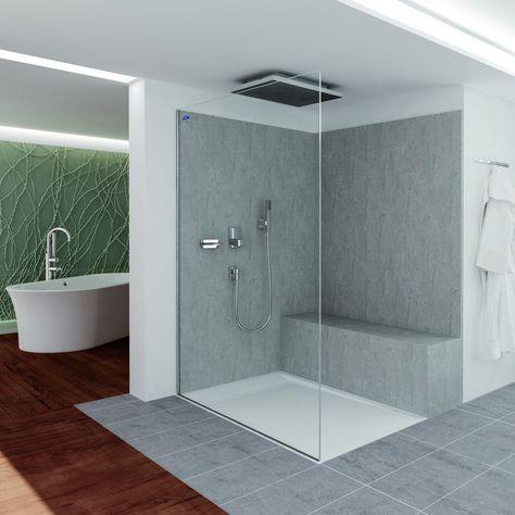 HT-Rohrleitungssystem Duschen (bodengleich) bauen Pinterest - badezimmer abdichten
