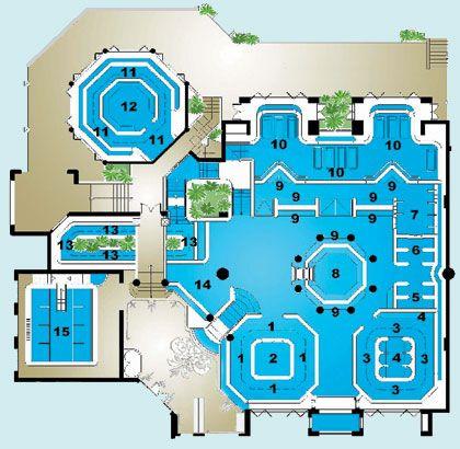 Pool Layouts aquatonic pool layout | spa | pinterest | spa
