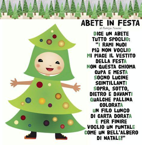 Poesie Di Natale In Rima Baciata.53 Idee Su Poesie Natale Natale Bambini Di Natale Filastrocche