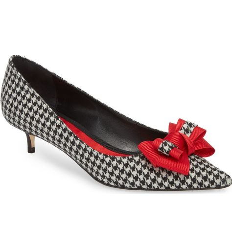 db92afbe402 Butter Bentley Bow Pointy Toe Pump