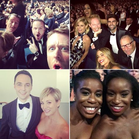 Pin for Later: Go Behind the Scenes With the Stars at the Emmys
