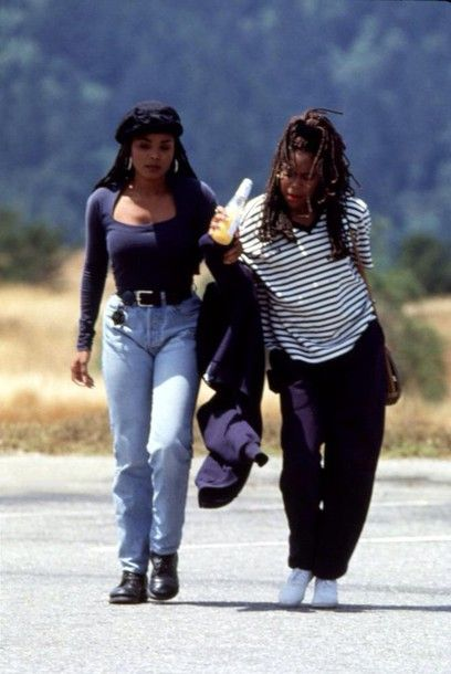 1993 Poetic Justice scene with Janet Jackson and Regina King. Saw this movie in theaters circa Great times.