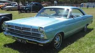1967 Ford Fairlane 500 Hardtop Coupe Classic American Ford Cars
