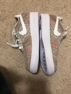 3ea44fa4a9d701 Nike Air Force 1 AF1 Ultra Flyknit Low Multicolor Men s Size 10