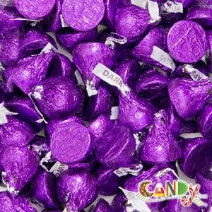 Hershey's Special Dark Chocolate Kisses from @candydotcom