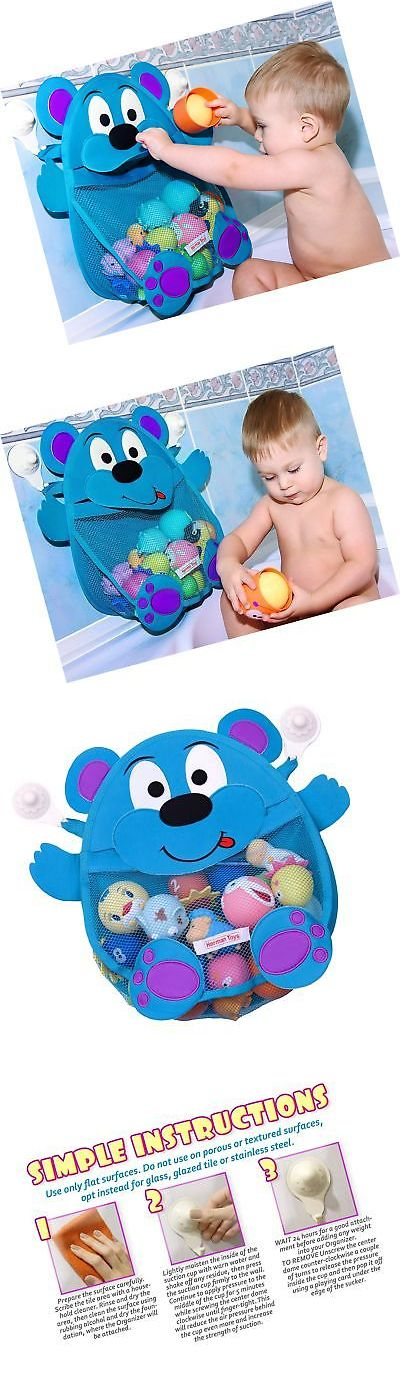 Bathing Accessories 100221: Herman Bear Baby Bath Toy Organizer ...
