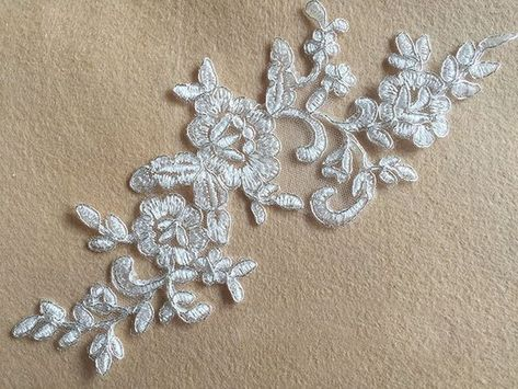 Embroidery lace applique openwork small heart fsl free u shop