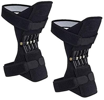 Amazon Com 2 Packs Madala Power Knee Brace Joint Support Power Knee Stabilizer Pads Protective Gear Booster With Powerful In 2020 Knee Support Knee Brace Knee Wraps