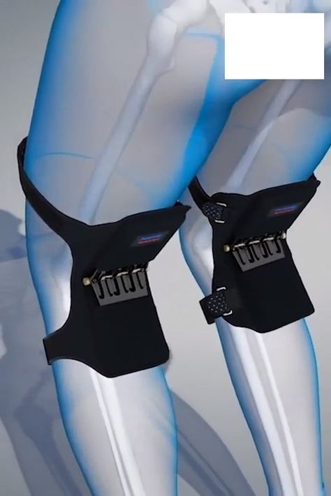 The new,Power Knee Stabilizer Padssupport your thighs and calves, while reducing the pressure on your knees. These pads support your legs, directly providing you with the ability to carry any heavy objects easier than you could without them! These stabilizing pads are ideal for people who work out, working men and wo