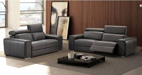 Canape 3places Relax Droit Canape Cuir Canape Cuir Relax Et