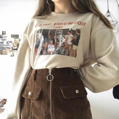 Camp firewood 1981 sweatshirt