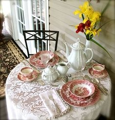tablescapes with Moms china