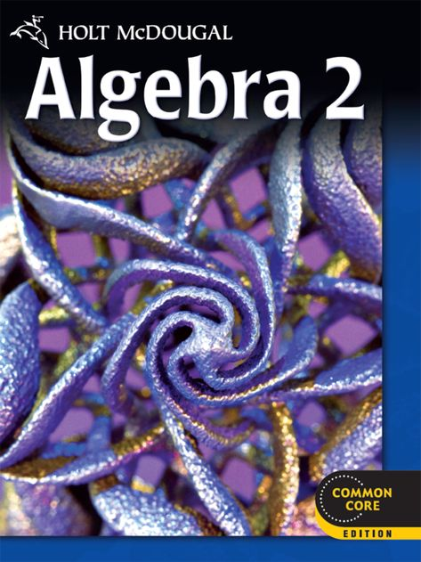Holt McDougal Algebra 2 EBook Rental Products In 2019