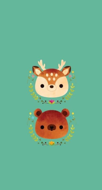 Best Drawing Tumblr Animals 26 Ideas Cute Wallpapers Kawaii Wallpaper Disney Wallpaper