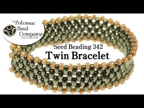 Free Twins and SuperDuos Bead Patterns - http://www.guidetobeadwork.com/wp/2013/05/free-twins-and-superduos-bead-patterns-4/