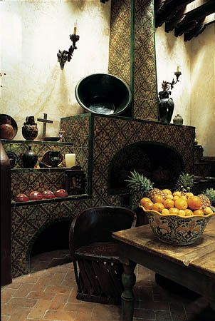 Mexican cocina (kitchen). Style.