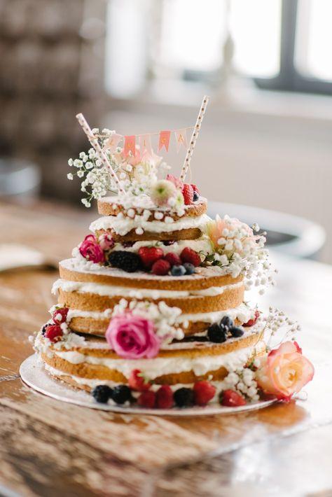 Tortetaufenakedcakehappy Torte Taufe Rezepte Und Kuchen
