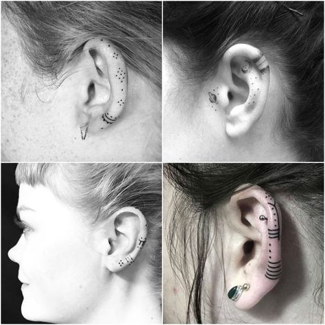 5 Reasons Why You Should Really Consider Getting A Helix Ear Tattoo 2