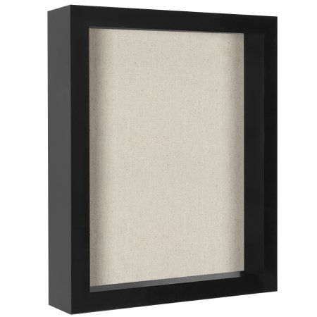 8 5x11 Inch Document Shadow Box Frame With Soft Linen Back Perfect To Display Memorabilia Pins Awards Medals Tickets And Photos Black Box Frames Shadow Box Frames Wood Shadow Box