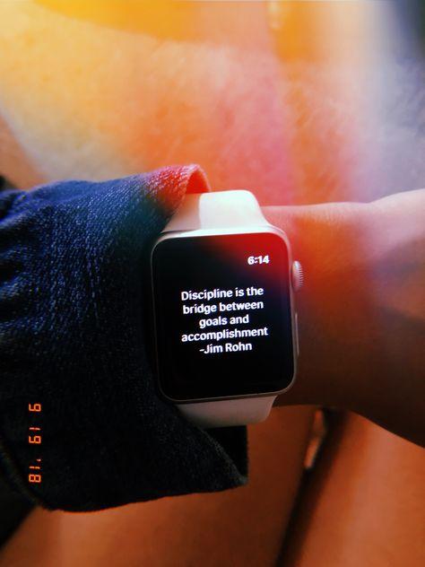 Inspirational, Motivational quote Apple Watch HUJI