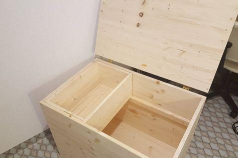 Brennholzkiste Holzkiste Selber Bauen Holztruhe Holzkiste Bauen