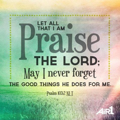 psalm103:2.