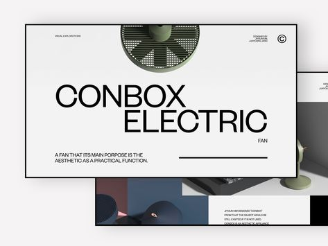 Product Page Explorations