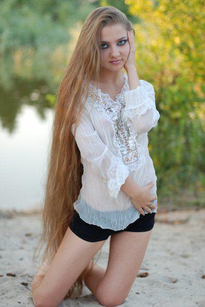 dating women very long hair