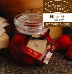 Strawberry Preserves @kathyireland acafe society by @hannascandles