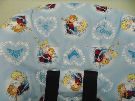Frozen Disney Toddler Car Seat Cover By Littlesches59 On Etsy