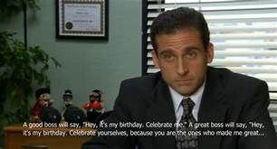 Michaelscottquotescanvas Michael Scott Quotes Office Birthday Birthday Quotes