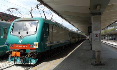 Regional Train From Venice To Trieste Arrived At Trieste Centrale Zagreb Ljubljana Venice