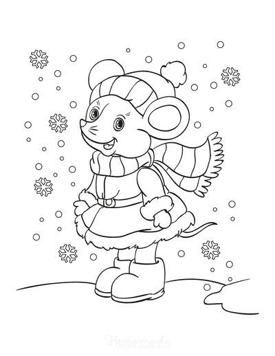 80 Best Winter Coloring Pages Free Printable Downloads In 2021 Coloring Pages Free Coloring Pages Coloring Pages For Kids