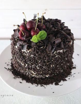 Classic Blackforest Cake Makanan Dan Minuman Ide Makanan Resep Makanan Penutup