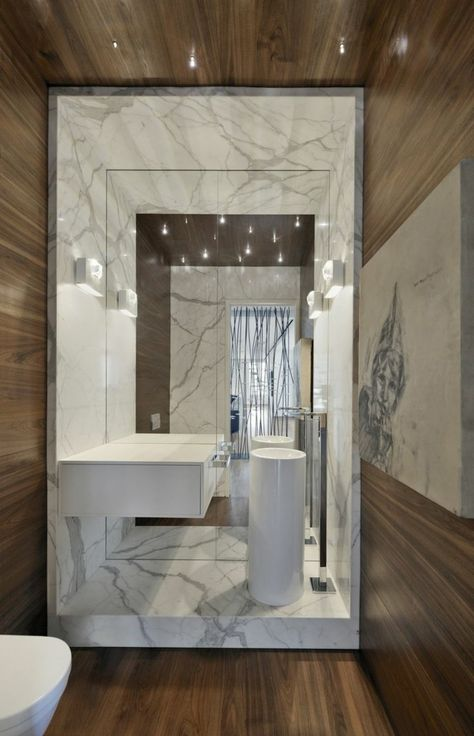 Beaucoup d\'idées en photos pour la salle de bain en marbre ...