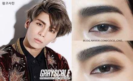 Trendy Eye Makeup Korean Idol Ideas Male Makeup Kpop Makeup Tutorial Korean Eye Makeup
