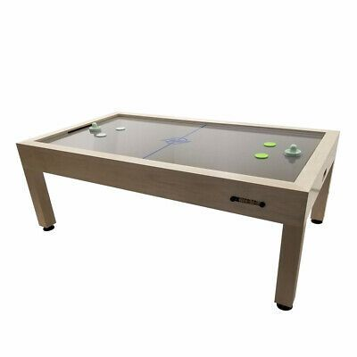 Details About Dynamo Astoria Air Hockey Table Fruitwood Maple Air Hockey Table Air Hockey Hockey