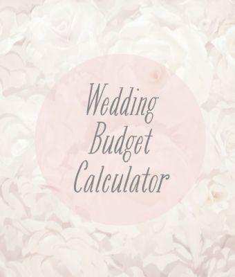 Budget calculator Budget Tools Tips Pinterest Budget - wedding budget calculator