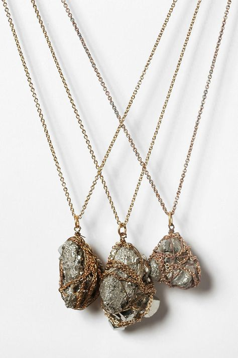 Mineral Pendant Necklace