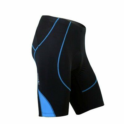 Mens Cycling Clothing Bike Bicycle Shorts 4D Silicone Padded Riding Shorts Pants