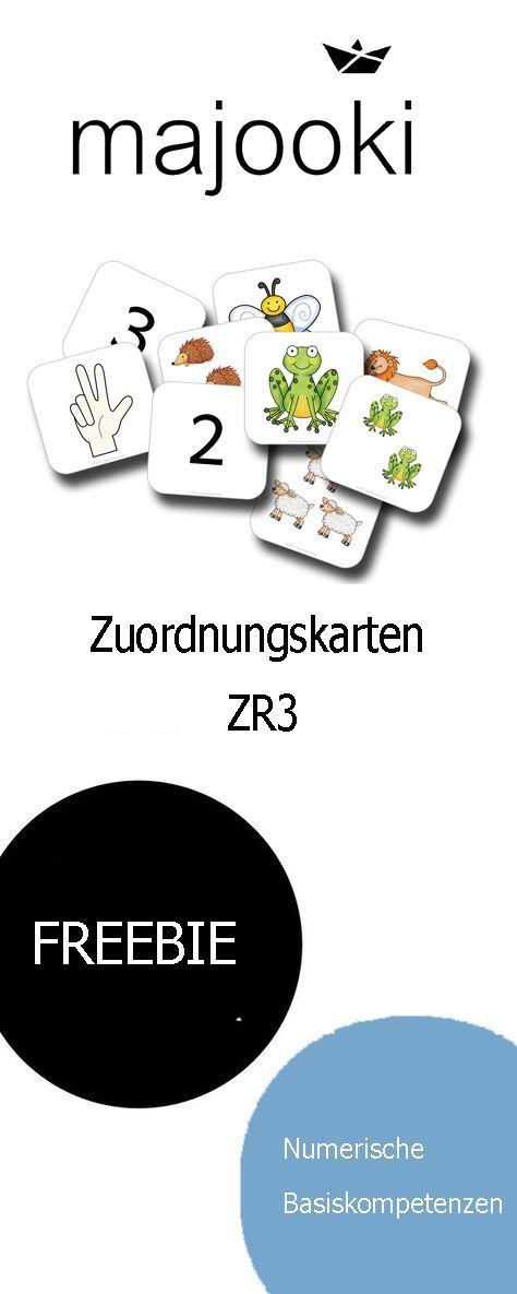 Photo of ZR3 Mengen, Zählen, Zahlen – Zuordnungskarten