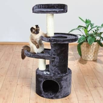 108 Cat Tree Cat Tree Cat Furniture Grey Cats
