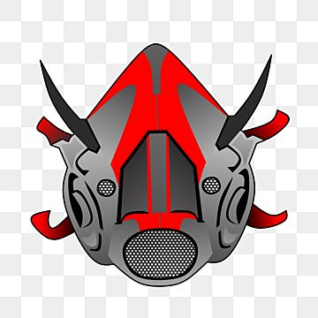Red And Gray Scout Pubg Gaming Vector Gas Mask Icon Modern Scout Pubg Mask Fantasy Png And Vector With Transparent Background For Free Download Logo Design Art Game Logo Design Bape