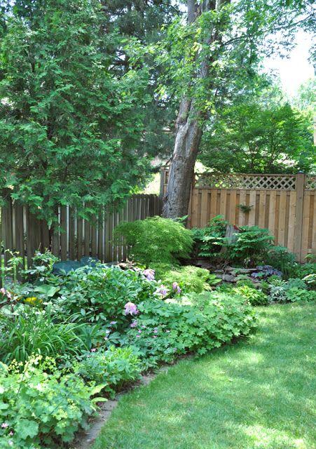 A Shade Garden In Oakville Ontario Shade Garden Outdoor
