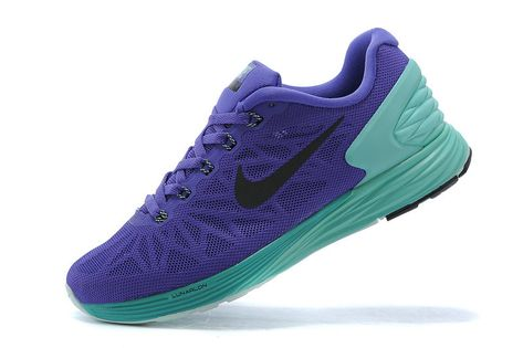 cf364b181938f Women Nike LunarGlide 6 Hyper Grape Violet Tiffany Blue