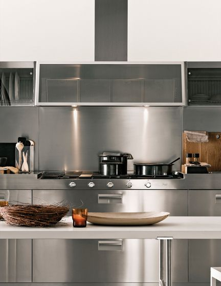 Appliance garage | Composition 2, Kitchen Italia Arclinea | kitchen |  Pinterest | Composition,