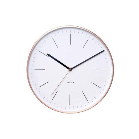 Horloge Minimal Ronde Blancrose Karlsson L275 X H275
