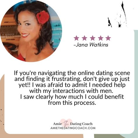 Client love: Check out this client testimonial and love story! ❤️ 👉🏻 Follow me on @amiethedatingcoach 💋 for daily tips about dating, love, self-love, and relationships. Pssst...Have you grabbed your free ebook? Grab your copy ⏩ Link in BIO. #examineyourthougths #beliefsystem #limitingbeliefs #datinglife #singlelife #singlelifeproblems #testimonials #lovestory